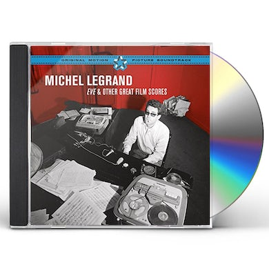 Michel Legrand EVE & OTHER GREAT FILM SCORES CD
