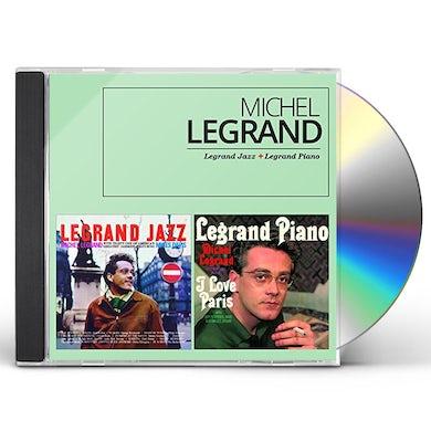 Michel Legrand LEGRAND JAZZ + LEGRAND PIANO CD