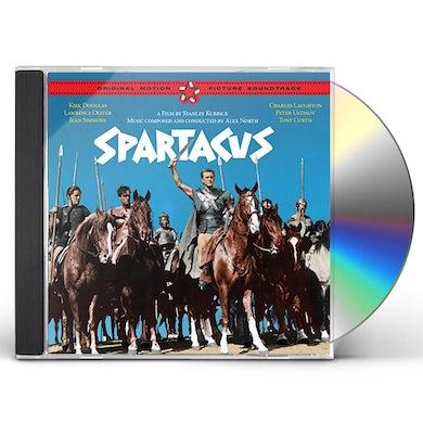 Alex North SPARTACUS + 4 BONUS TRACKS / Original Soundtrack CD