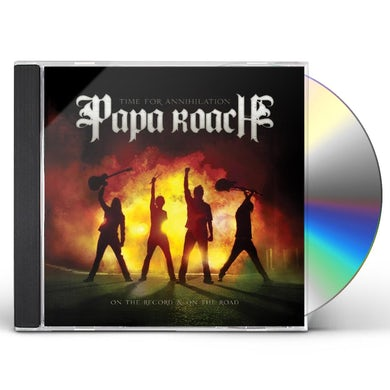 Papa Roach TIME FOR ANNIHILATION ON THE RECORD & ON THE ROAD CD