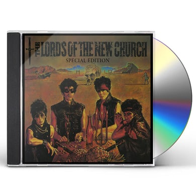 THE LORDS OF THE NEW CHURCH SPECIAL EDITION CD