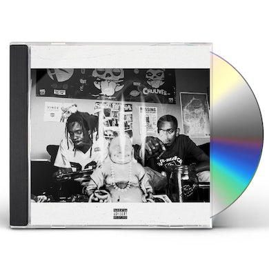 Chuuwee & Trizz AMERIKKA'S MOST BLUNTED 3 CD