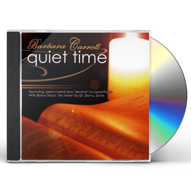 Barbara Carroll QUIET TIME CD