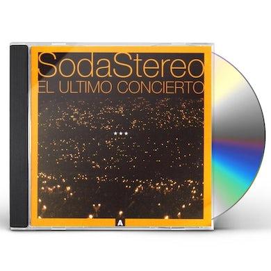 Soda Stereo EL ULTIMO CONCIERTO A CD