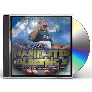 Damien MANIFESTED BLESSINGS CD