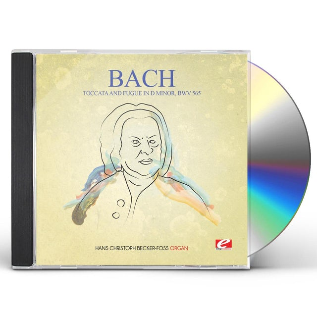 J.S. Bach TOCCATA & FUGUE IN D MINOR BWV 565 CD