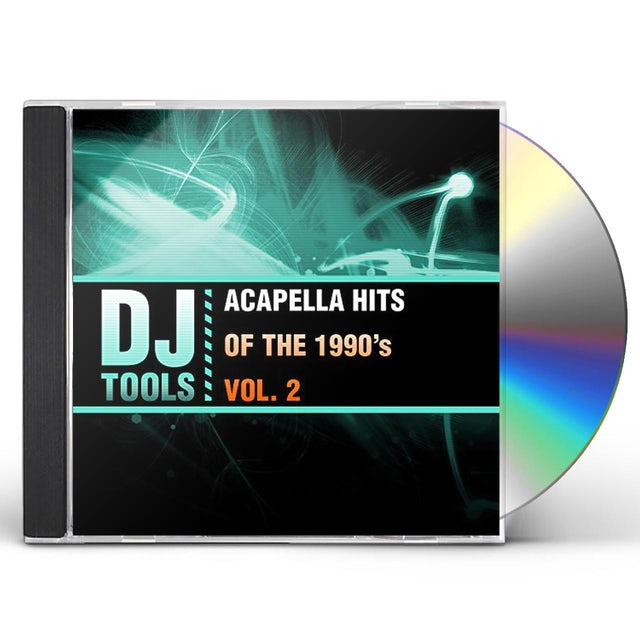 DJ Tools ACAPELLA HITS OF THE 1990'S VOL. 2 CD