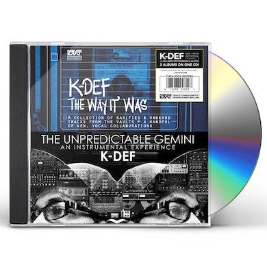 UNPREDICTABLE GEMINI / THE WAY IT WAS CD