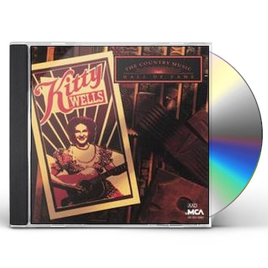 Kitty Wells COUNTRY MUSIC HALL OF FAME CD