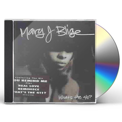 Mary J. Blige WHAT'S THE 411 CD