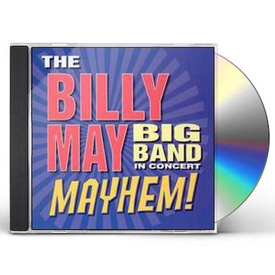 Billy May IN CONCERT: MAYHEM CD