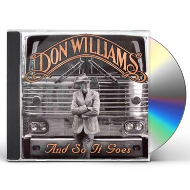 Don Williams & SO IT GOES CD