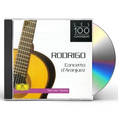 Narciso Yepes CONCERTO D'ARANJUEZ CD