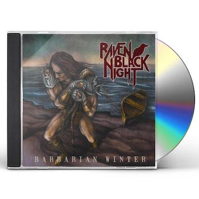 Raven Black Night BARBARIAN WINTER CD