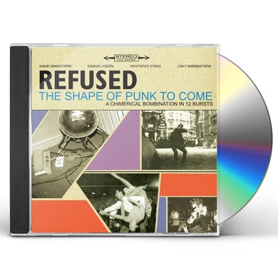 Refused SHAPE OF PUNK TO COME CD
