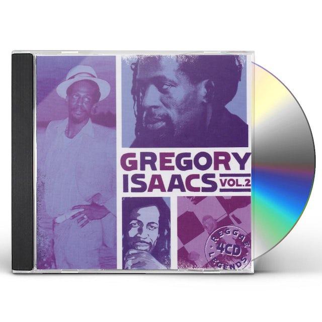 Gregory Isaacs REGGAE LEGENDS 2 CD