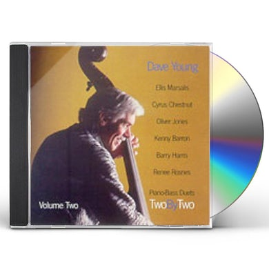 Dave Young TWO BY TWO PIANO BASS DUETS 2 CD