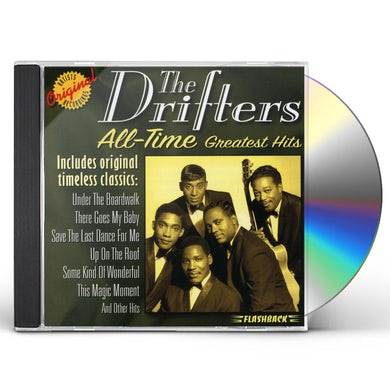 Drifters ALL TIME GREATEST HITS CD