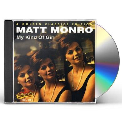 Matt Monro MY KIND OF GIRL CD