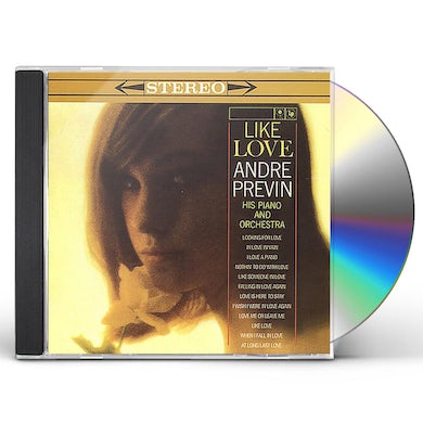 Andre Previn LIKE LOVE CD