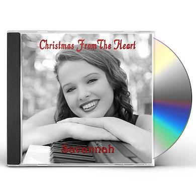 Savannah CHRISTMAS FROM THE HEART CD