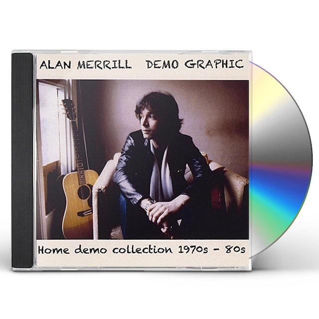 Alan Merrill DEMO GRAPHIC CD