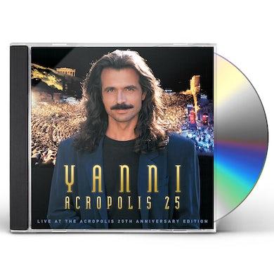 YANNI: LIVE AT THE ACROPOLIS (25TH ANNIVERSARY) CD