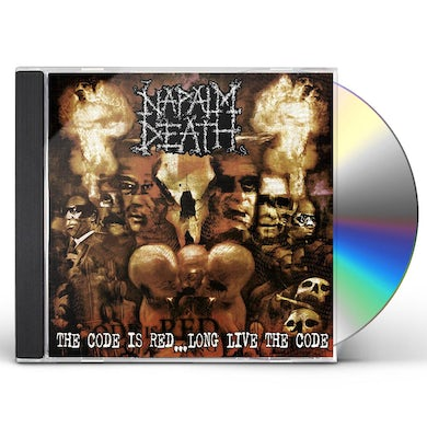 Napalm Death CODE IS RED... LONG LIVE THE CODE CD
