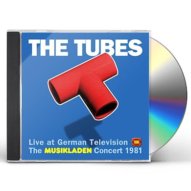 Tubes LIVE AT GERMAN TELEVISION: MUSIKLADEN CONCERT 1981 CD