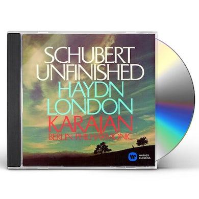 Herbert Von Karajan  SCHUBERT: SYMPHONY NO.8 'UNFINISHED' CD
