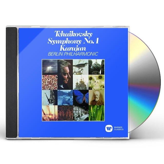 Herbert Von Karajan TCHAIKOVSKY: SYMPHONY NO.4 CD