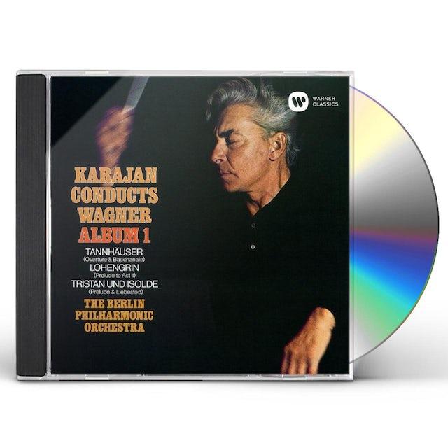 Herbert Von Karajan KARAJAN CONDUCTS WAGNER 1 CD