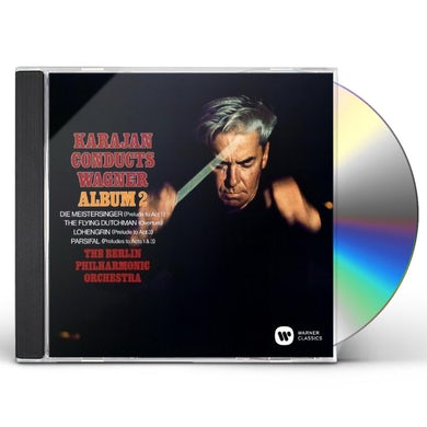 Herbert Von Karajan  KARAJAN CONDUCTS WAGNER VOL.2 CD