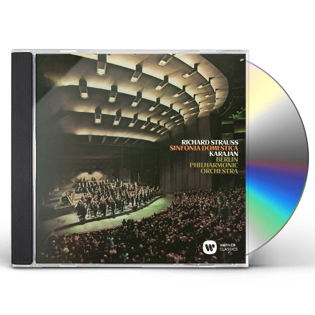Herbert Von Karajan RICHARD STRAUSS: SINFOIA DOMESTICA CD