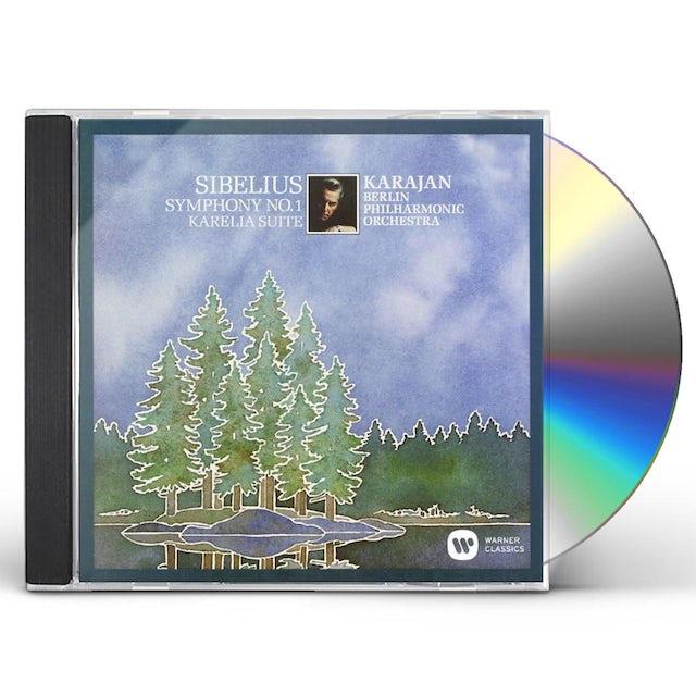 Herbert Von Karajan SIBELIUS: SYMPHONY NO.1 CD