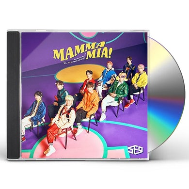 SF9 MAMMA MIA (VERSION A) CD