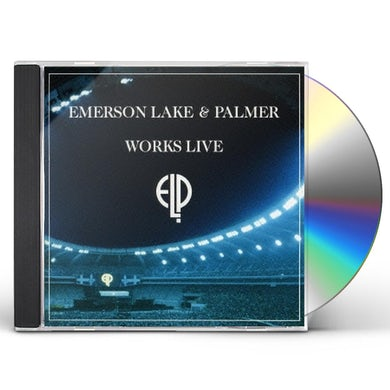 Emerson, Lake & Palmer WORKS LIVE: LIMITED CD