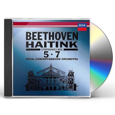 Bernard Haitink BEETHOVEN: SYMPHONIES NO. 5 & NO. 7 CD