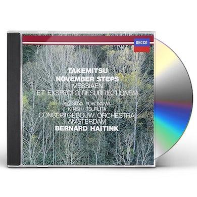 Bernard Haitink TAKEMITSU: NOVEMBER STEPS / MESSIAN CD