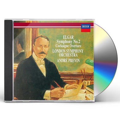 Andre Previn ELGAR: SYMPHONY NO. 2. COCKAIGNE OVER CD