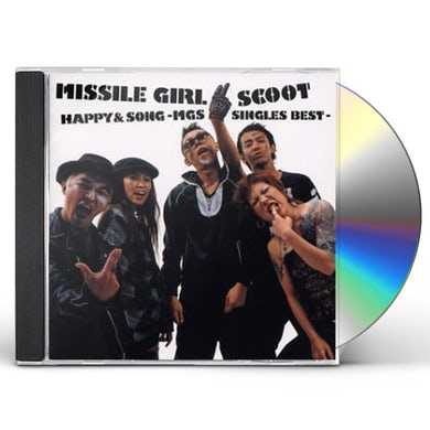 Missile Girl Scoot HAPPY&SONG / MGS SINGLES BEST CD