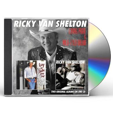 Ricky Van Shelton LOVING PROOF / WILD-EYED DREAM CD