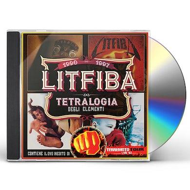 Litfiba TETRALOGIA DEGLI ELEMENTI LIVE CD