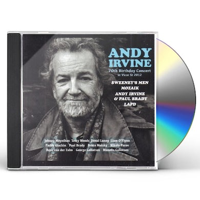 Andy Irvine 70TH BIRTHDAY CONCERT AT VICAR ST 2012 CD