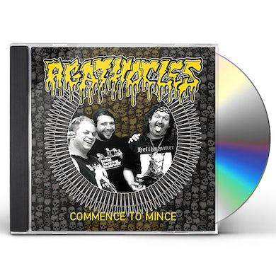 Agathocles COMMENCE TO MINCE CD