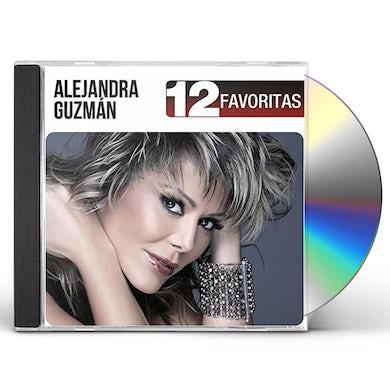 Alejandra Guzman 12 FAVORITAS CD