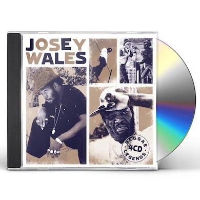 Josey Wales REGGAE LEGENDS CD
