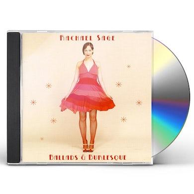 Rachael Sage BALLADS & BURLESQUE CD