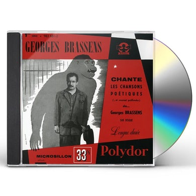 Georges Brassens CHANTE.LES CHANSONS POETIQUES CD