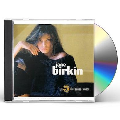 Jane Birkin LES 50 PLUS BELLES CHANSONS CD